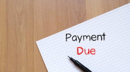How can your business prepare early for late payment?