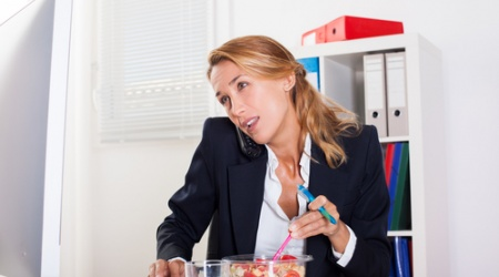Nearly Half of All Accountants 'Don't Leave Their Desks at Lunch'