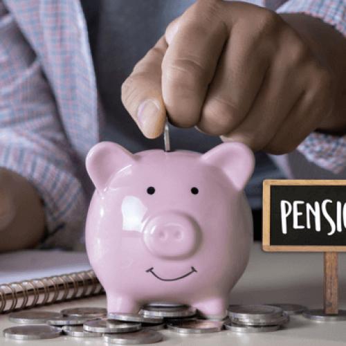 Pension piggy bank