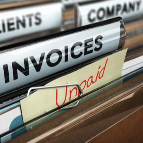 Unpaid invoice file