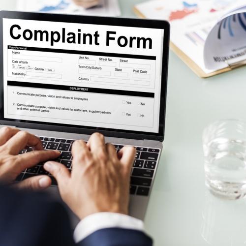 Online Complaints