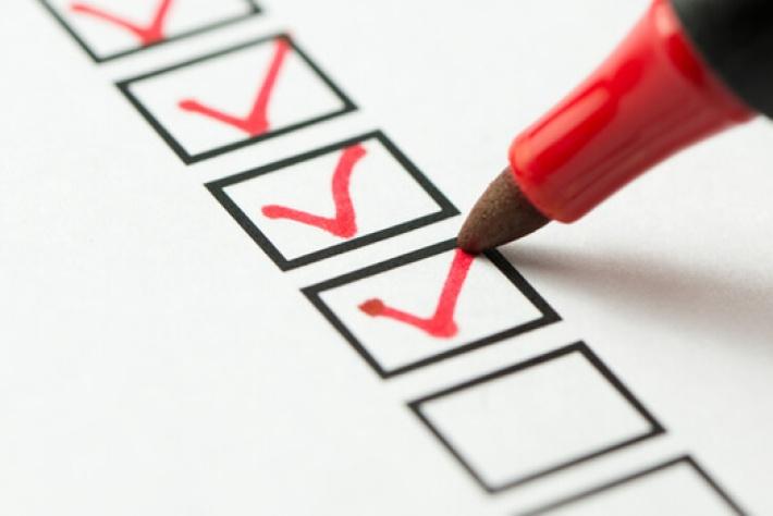 A start-up business checklist