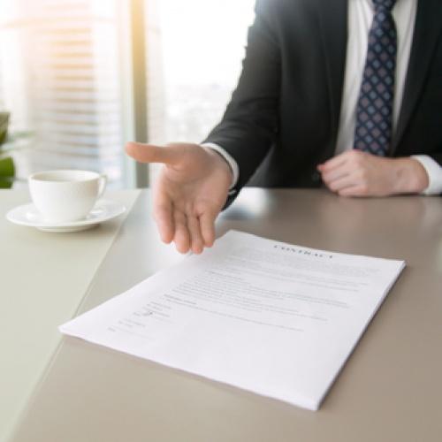 Successful business loan proposal