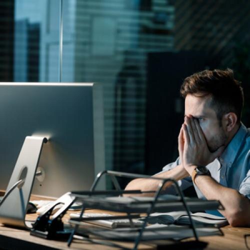 Fatigue man missed his tax deadline