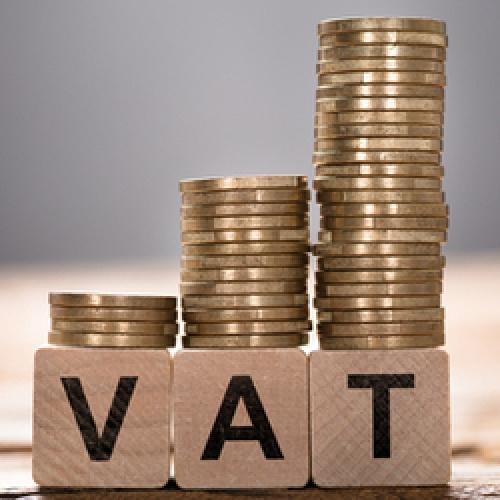 VAT values rising