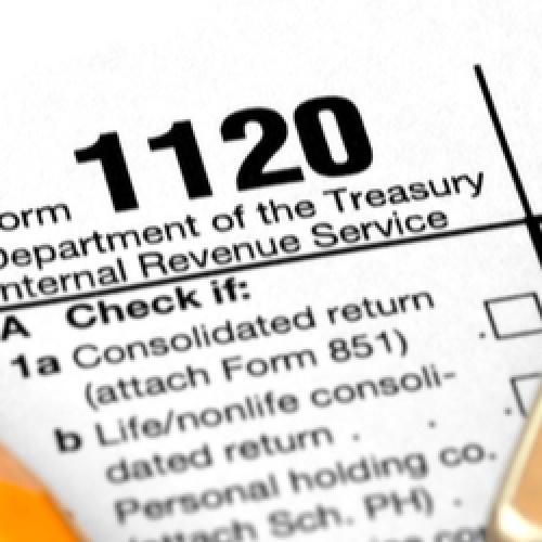 Corporate tax document